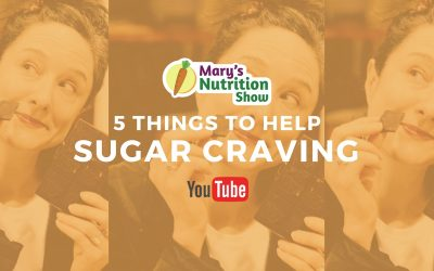 5 THINGS TO HELP SUGAR CRAVING