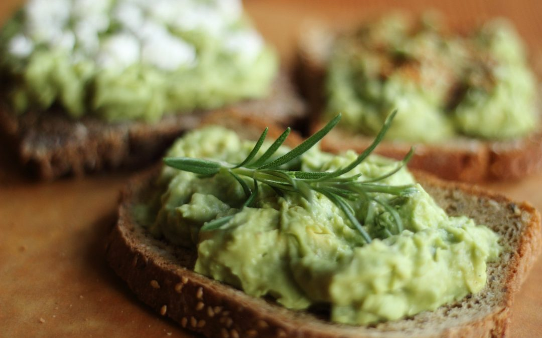 Avocado Toast 4 Ways