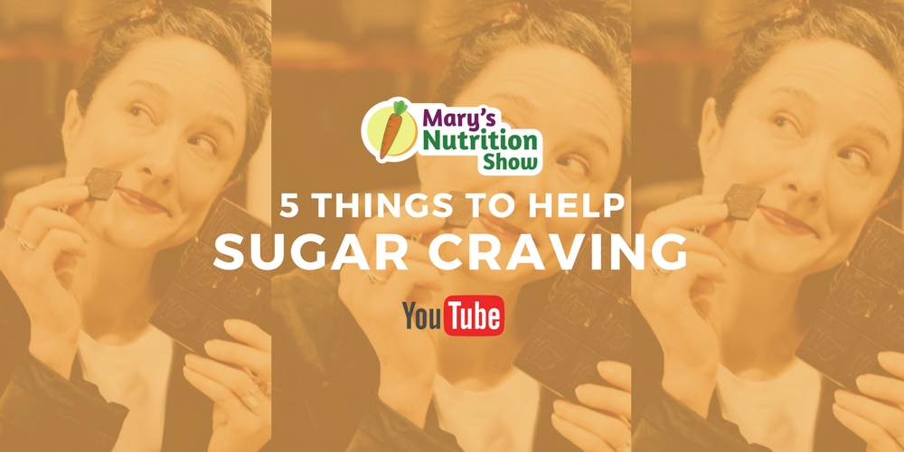 5 THINGS TO HELP SUGAR CRAVING