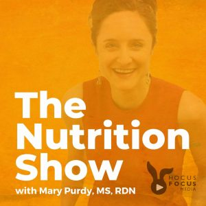 logo of nutrition show podcast